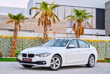 1,351 P.M | 320i Agency Service Contract | 0% Downpayment | Full Option