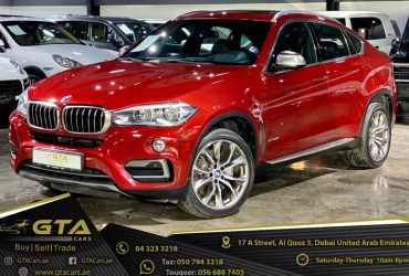 2015 BMW X6 xDrive50i, Warranty, Full History, Excellent Condition, GCC