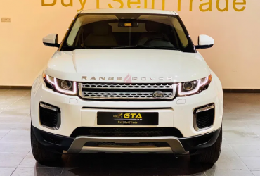 2016 Land Rover Evoque, Warranty, Service Contract, Service History, GCC, Low Kms