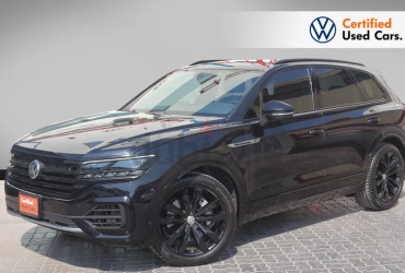 NEW TOUAREG R LINE 3.0L – Only One In Stock! (Ref.# 126)
