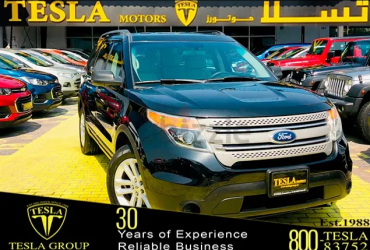 FORD / EXPLORER / 4WD / GCC / 2014 / WARRANTY / PERFECT CONDITION / 7 SITTER / ONLY 566 DHS MONTHLY