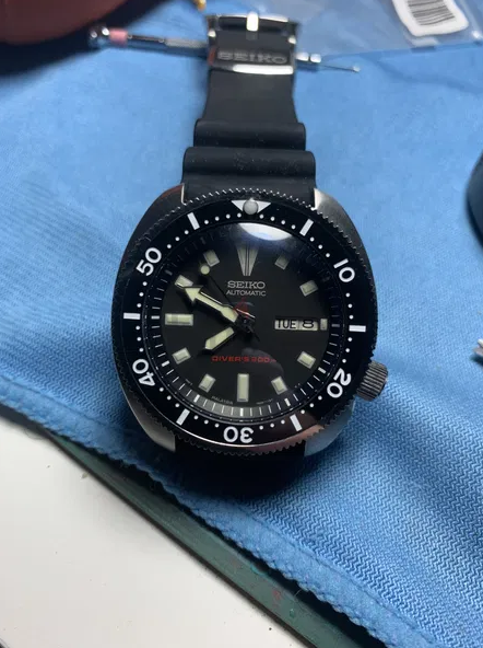 Seiko SRP777 modified by Artiface Horoworks