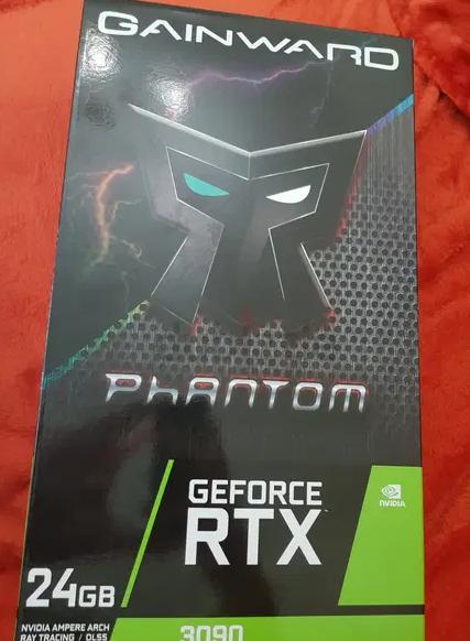 Nvidia RTX 3090 (NEW, BOX CLOSED) NEVER USED